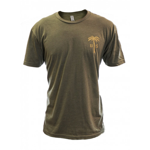 US PALM Olive Green T-Shirt
