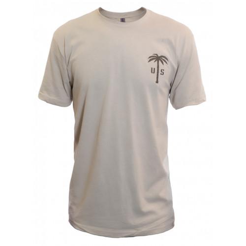 US PALM Cream T-Shirt
