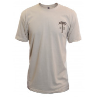 US PALM Cream T-Shirt